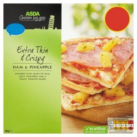 Asda Chosen By You Extra Thin Crispy Ham Pineapple Pizza Pineapple Pizza Pizza Asda