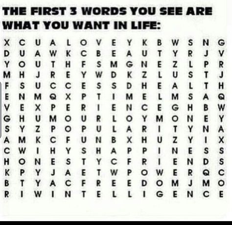 Love, Friends, and intelligence
