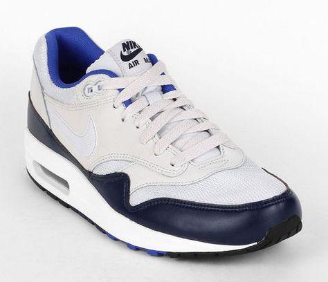 90d84bda9e Nike Air Max 1 Essential - Pure Platinum / Mid Navy | Sneaks ...
