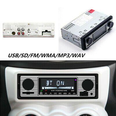 Ad Ebay Car Auto Lcd Display Stereo Fm Radio 12v Bluetooth Stereo
