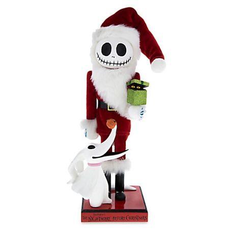 Disney Nutcracker Figure - Santa Jack Skellington - 14