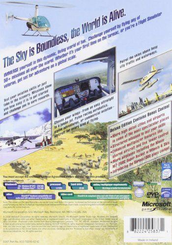 Microsoft Flight Simulator X Deluxe #software | Software in