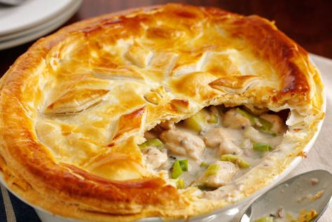 An historic recipe dating back to medieval Wales, Chicken and Leek Pie offers incredible, comforting flavors and simple luxury.  This was elegant cuisine then and now.