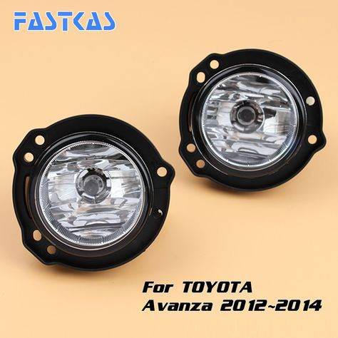 Car Fog Light Assembly For Toyota Avanza 2012 2013 2014 Left Right Fog Lamp With Switch Harness Covers Fog Lamp Kit Affili Discount Car Fog Lamps Car Lights