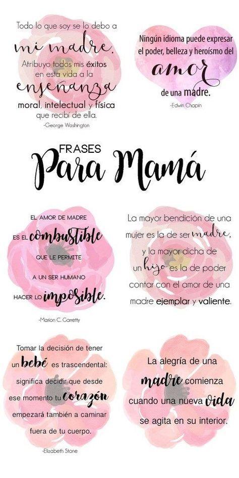 120 Frases Para El Dia De La Madre Y Felicitaciones En 2020