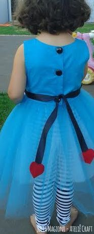 Alice In Wonderland Costume Fantasia Alice No Pais Das