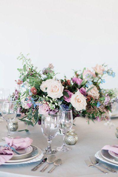 Blue Lavender Purple Blue Burgundy Asymmetric Garden Style Fine Lavender Wedding Flowers Purple Wedding Flowers Centerpieces Lavender Wedding Centerpieces