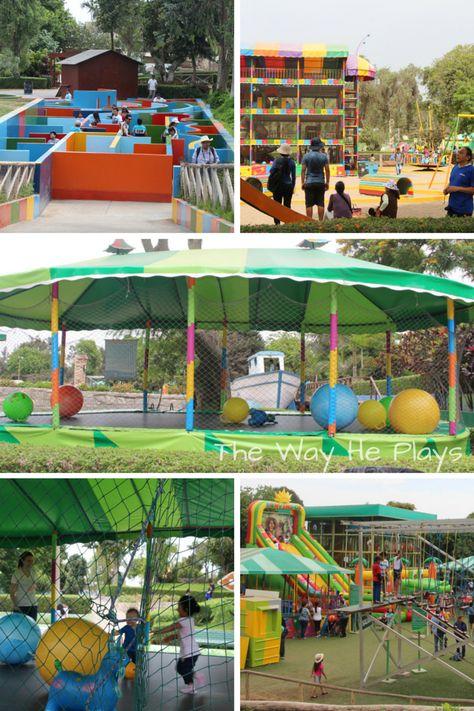 Parque De Las Leyendas zoo in Lima, Peru - Games and activities