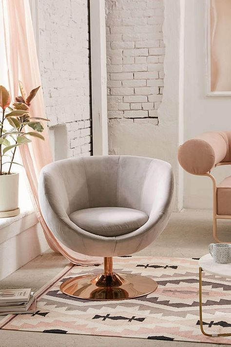 Miraculous Urban Outfitters Josey Swivel Chair Round Out Your Living Pabps2019 Chair Design Images Pabps2019Com