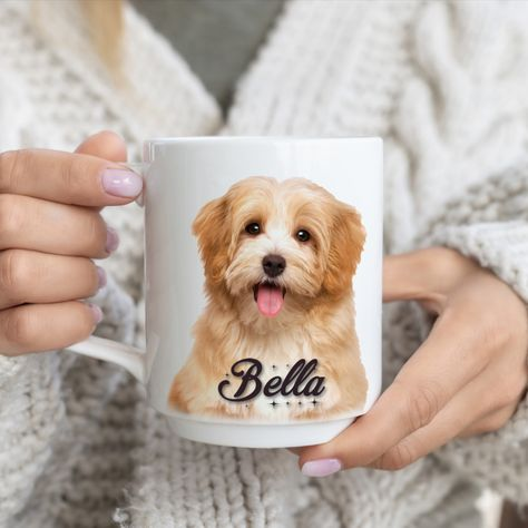 Custom Dog Mug for your Pet, 15 oz Coffee Dog Mug!