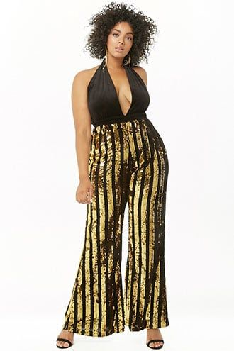 huge discount hot sale cost charm 70s Jumpsuit | Disco Jumpsuits – Sequin, Striped, Gold ...