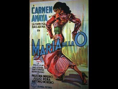 Carmen Amaya Maria De La O 1936 Youtube Comic Book Cover Film Carmen Amaya