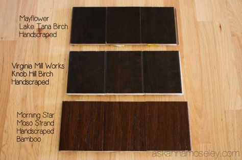 Need help picking out flooring? Let Ask Anna help! See how she chose her new bamboo floor.