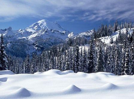 Mostbeautifuldesktopwallpaper Free Download Heavy Snowfall In