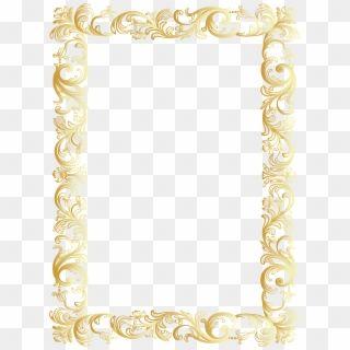 Antique Frame Border Png Pngkey Vintage Borders Glitter Gold Vintage Border Png Transparent Png Glitter Frame Gold Glitter Gold Frame