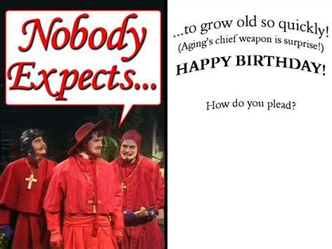 Image Result For Monty Python Happy Birthday With Images Monty