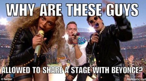 Twitter erupts with memes as Chris Martin gets sidelined at Super Bowl