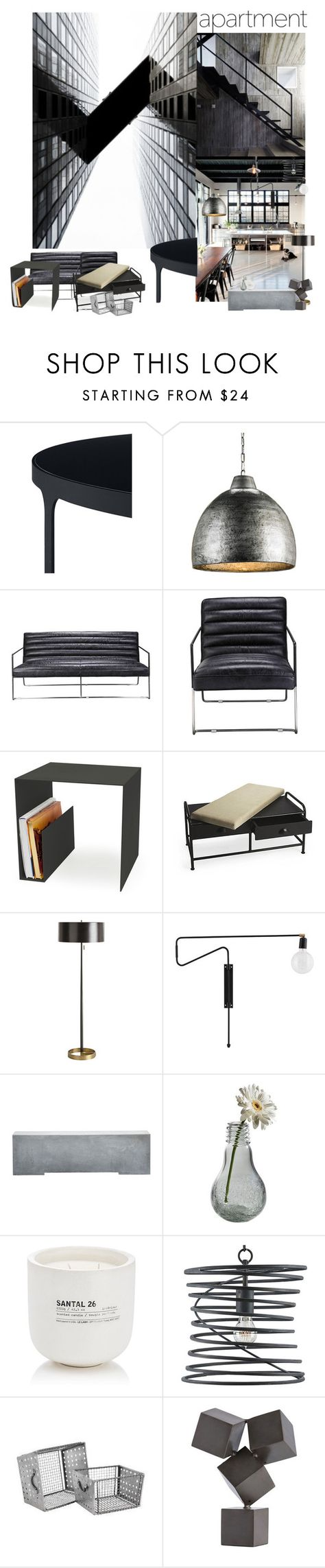 """""""High Rise (Top Set)"""" by sue-mes ❤ liked on Polyvore featuring interior, interiors, interior design, home, home decor, interior decorating, Moe's Home Collection, Röshults, Ryder and Dot & Bo"""