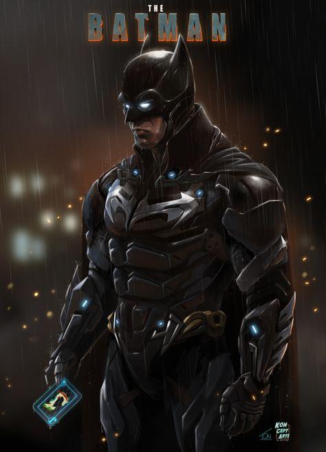 The Batman new conceptart fanart