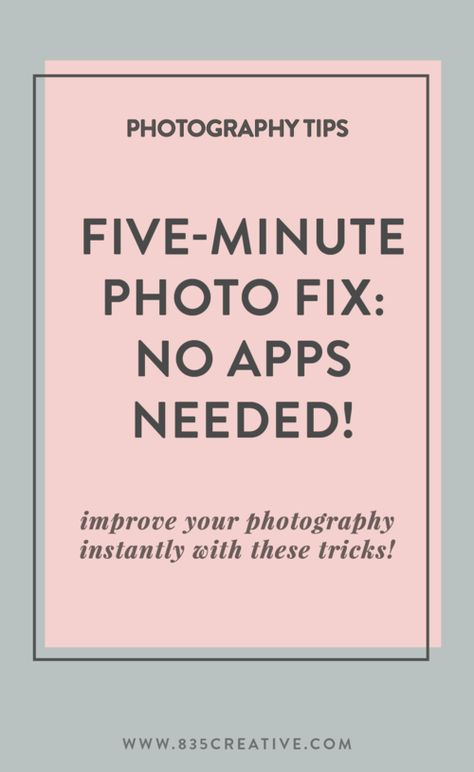 The Five-Minute Photo Fix: Take Better iPhone Photos Instantly • Tulsa Lifestyle Blogger | Brenda Dalton