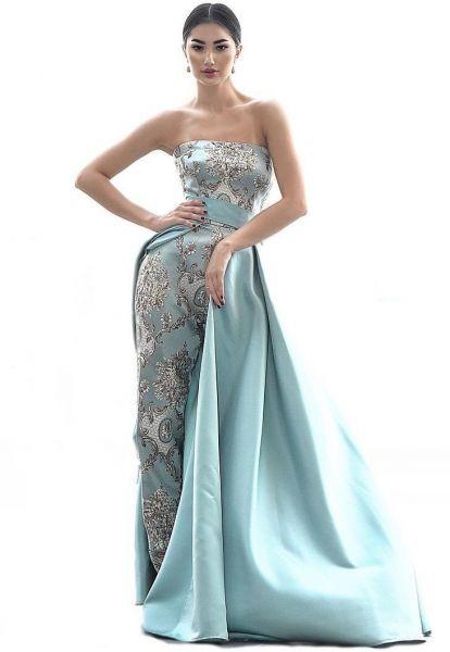 Affiliate فستان مناسبة خاصة من انتونيو دانالي فستان من قطعتين للنساء فساتين المراة كاجوال هدوم ملابس فساتين سهرة Strapless Dress Formal Fashion Dresses