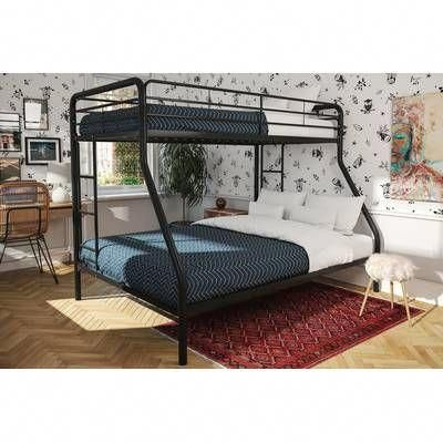 Bellmead Twin Over Twin Bunk Bed Metal Bunk Beds Bunk Beds With