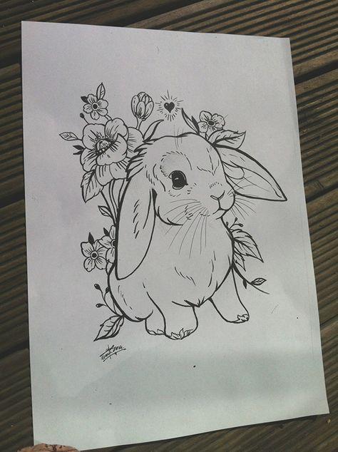 lop bunny tattoo - Google zoeken