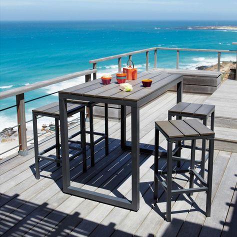 Rocha II Café Table + Reviews | Crate and Barrel