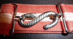 1960s Boys Snake Belt - boys wore these to keep their school shorts up.