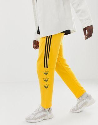 adidas hose gelbe streifen