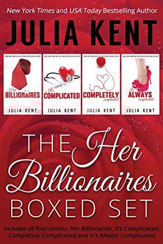 Shel Recommends The Her Billionaires Series Boxed Set Julia Kent Boxset Box Set Books