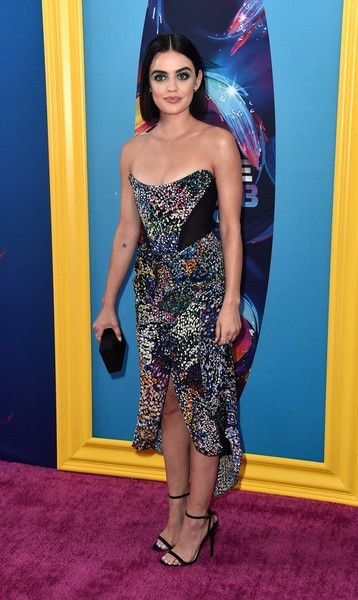 Lucy Hale attends FOX's Teen Choice Awards.