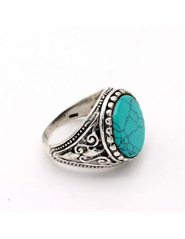 SJR-3062 bagues en argent sterling pour bijoux de mode indienne pour femmes