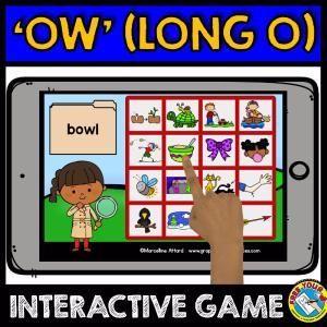 Interactive Phonics Game For Kindergarten