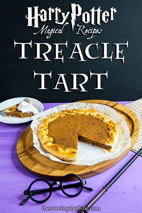 Treacle Tart Harry Potter Recipes Recipe Healthy Desserts For Kids Treacle Tart Harry Potter Food
