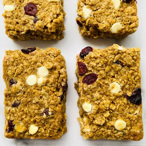 White Chocolate Cranberry Baked Oatmeal   Daddio's Kitchen