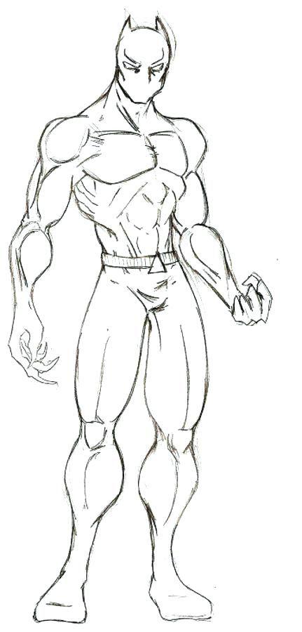 Imagem Relacionada Desenho De Pantera Negra