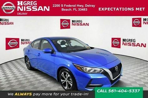 2020 Nissan Sentra Sv 2020 Nissan Sentra Sv 5 Miles Electric Blue Metallic 4dr Car Regular Unleaded I In 2020 Nissan Sentra Nissan Electric Blue