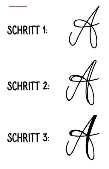 Kunst Mit Buchstaben Unsere Lettering Tipps Teil 1 Kunst Mit