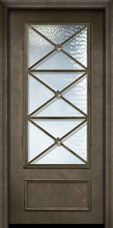 80 Thermaplus Steel Republic 1 Panel 3 4 Lite Door Metal Doors Exterior Paneling Interior Doors For Sale