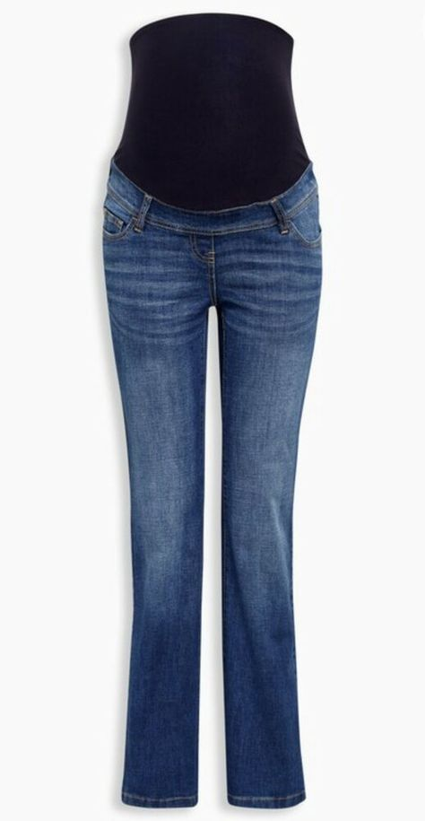 a9016eb511b31 (Advertisement)eBay- Next Maternity Bootcut Over The Bump Dark Wash Jeans  Size 10 Regular BNWTS