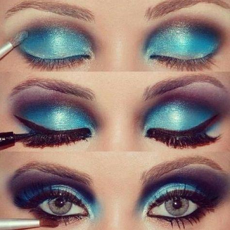 oceanic eyes makeup | Fashion Beauty MIX
