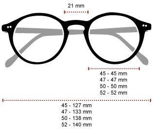 Aaf Frame Diagram Frame Prescription Eyeglasses Classic Frame