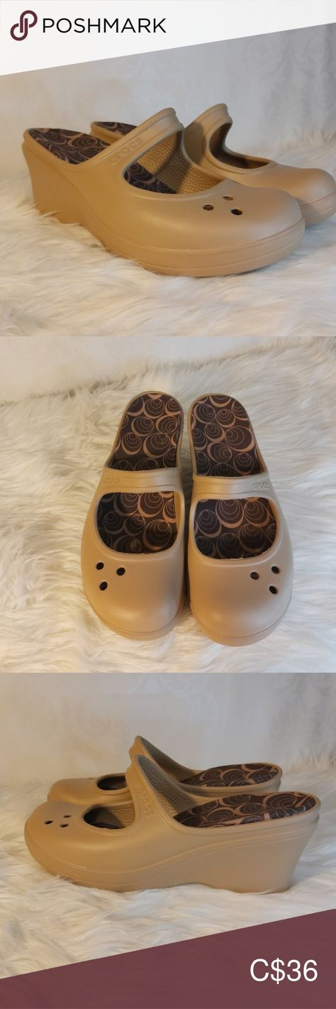 Crocs mary jane wedge sandle size 9 Crocs Mary Jane Wedge Sandle  Size 9  Beige in color Absolutely mint condition CROCS Shoes Sandals    Source by jmborne #Crocs #Jane #Mary #sandle #Size #Wedge #women shoes sandles