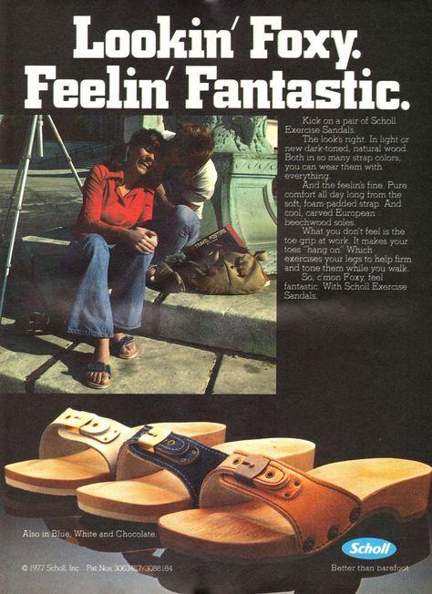 Scholl Sandals 1977 | Sandals, Clogs, Kicks