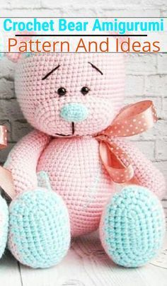 Crochet Teddy Bear | Crochet teddy bear, Crochet teddy bear ... | 404x236