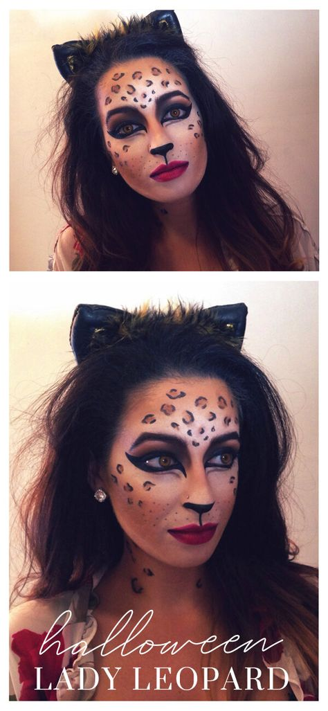 { — The Weekend Gypsy Halloween Makeup Looks, Easy Halloween, Halloween Party, Halloween Costumes, Leopard Halloween Makeup, Halloween Activities, Halloween 2020, Halloween Outfits, Elf Makeup Dupes