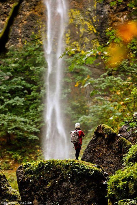 The Beautiful Elowah Falls Hike - Chasing Waterfalls in Oregon