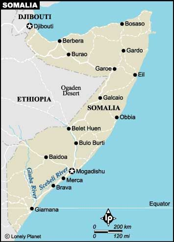 Mogadishu Africa Map.Somalia The Cities And Its Capital Mogadishu World