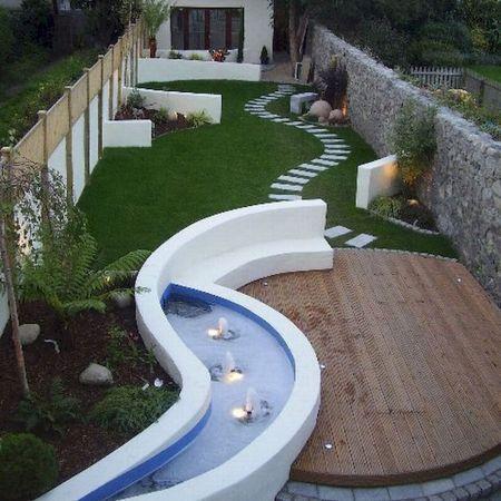 40 Fabulous Modern Garden Designs Ideas For Front Yard And Backyard House8055 Com Backyard Garden Design Backyard Landscaping Modern Garden Design